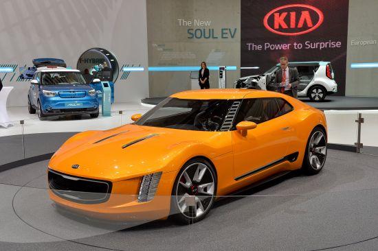 Kia GT4 Stinger Geneva