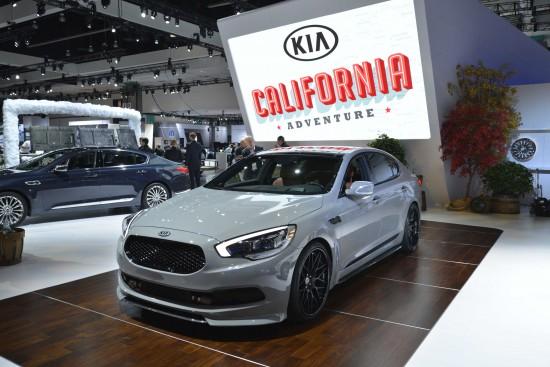 Kia High-Performance K900 Los Angeles
