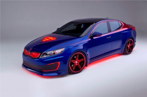 Kia Optima Hybrid Project Superman , 1 of 3