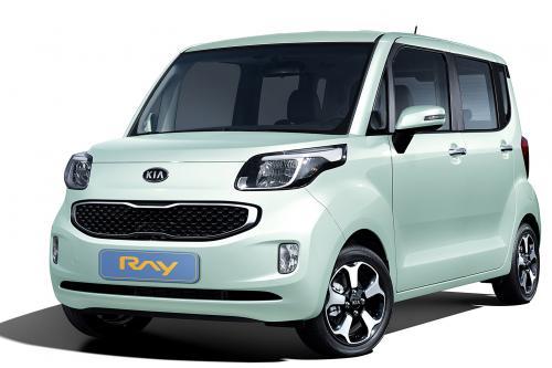 Kia Ray - это городской автомобиль для Кореи
