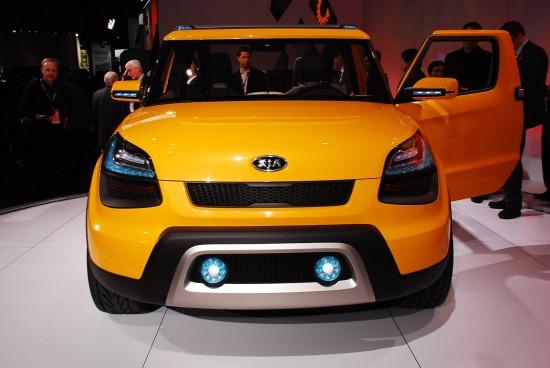 Kia Soul'ster Concept Detroit