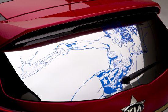 Kia Sportage Wonder Woman