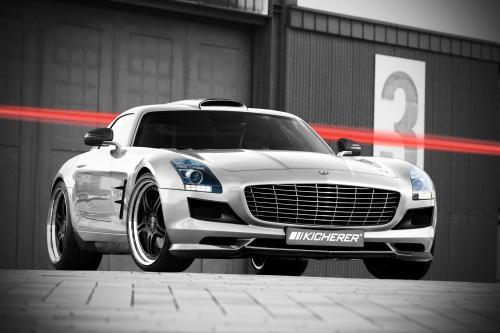 Kicherer уточняет 2010 Mercedes-Benz SLS AMG