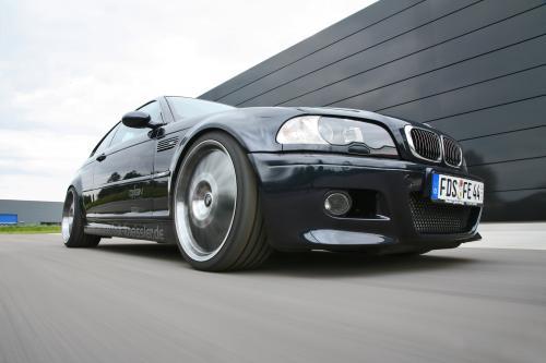 BMW M3 наддувом путем Kneibler Autotechnik