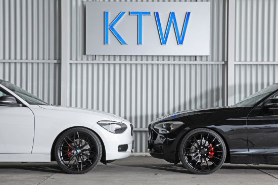 KTW BMW 1-Series Black and White