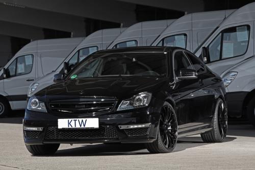 KTW Mercedes-Benz C 63 AMG Black Daimler с дополнительной мощности
