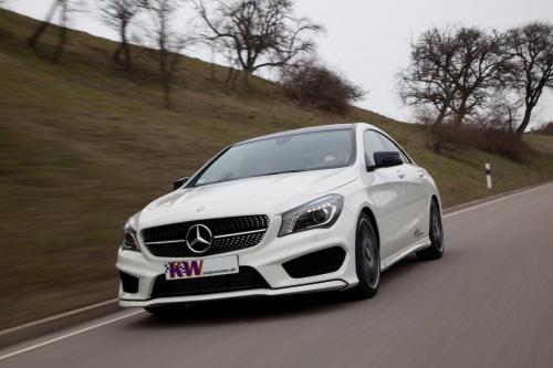 КВт Mercedes-Benz CLA-класса предлагает лучшую динамику вождения