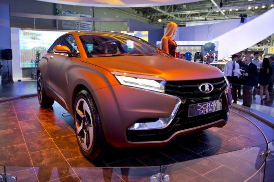 Lada XRAY Concept Moscow