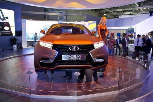 Lada X-Ray Concept премьера в Москве