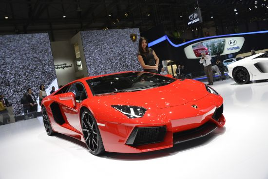 Lamborghini Aventador Geneva