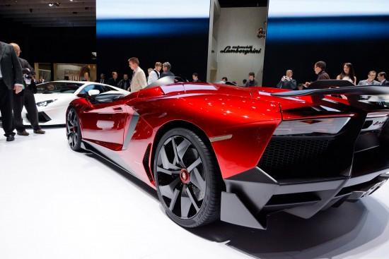 Lamborghini Aventador J Geneva