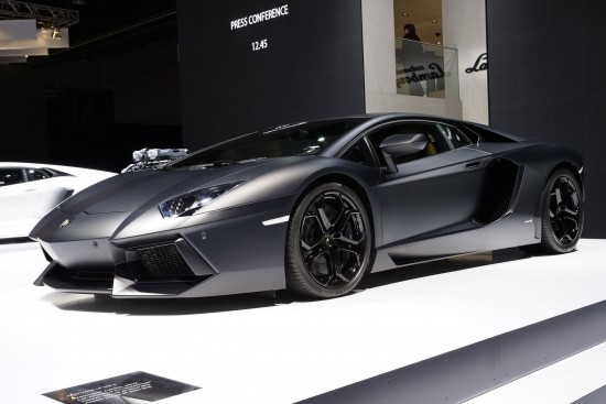 Lamborghini Aventador LP 700-4 Frankfurt