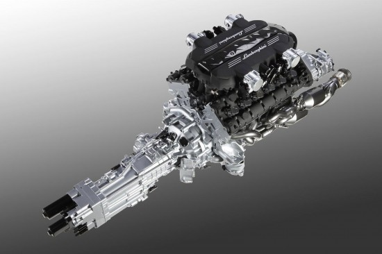 Lamborghini L539 Engine
