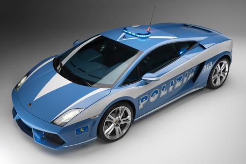 """Lamborghini отдает новых """"Gallardo LP560-4 Polizia"""" итальянской государственной полиции"""