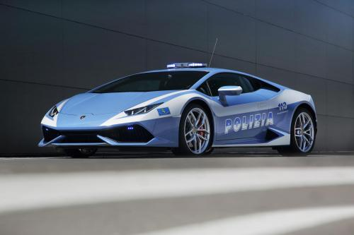 Уракан Lamborghini на прокат в LP 610-4 с polizia