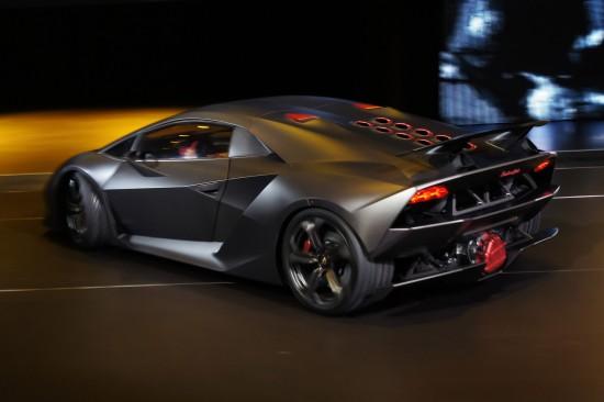 Lamborghini Sesto Elemento at Paris