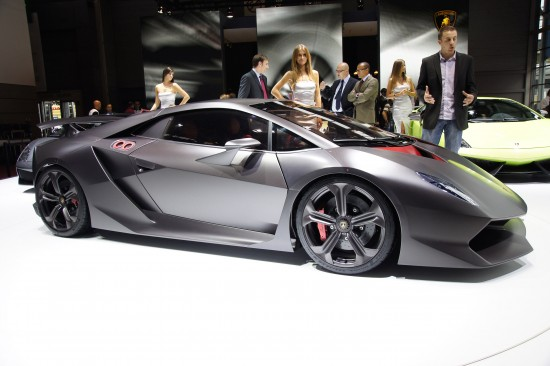 Lamborghini Sesto Elemento at Paris