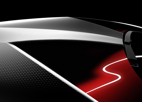 Lamborghini teaser  Paris Motor Show