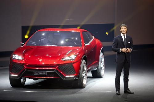 Lamborghini Urus Concept at Beijing 2012, 1 of 4
