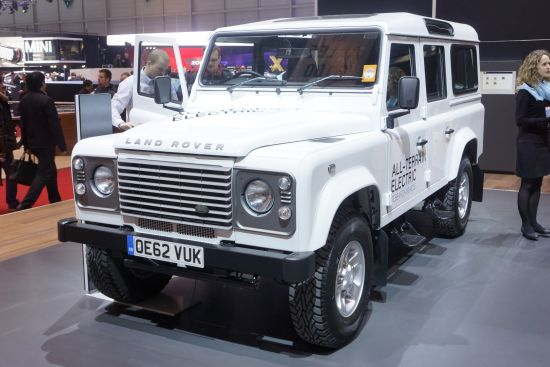 Land Rover All-Terrain Electric Geneva
