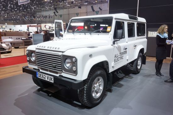Land Rover All-Terrain Electric Geneva
