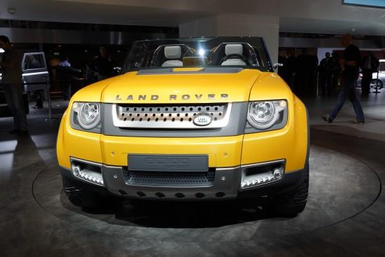 Land Rover Defender DC100 Sport Frankfurt