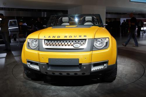 Land Rover Defender концепт DC100 во Франкфурте