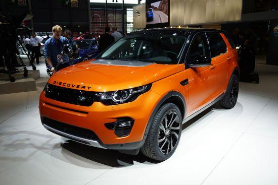 Land Rover Discovery Sport Paris