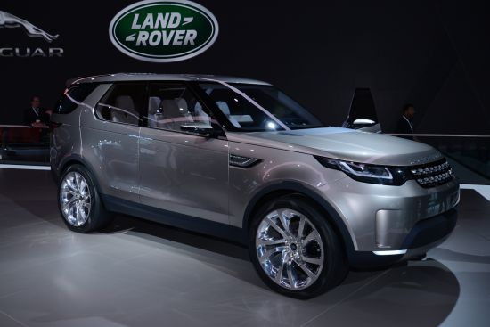 Land Rover Discovery Vision Concept New York