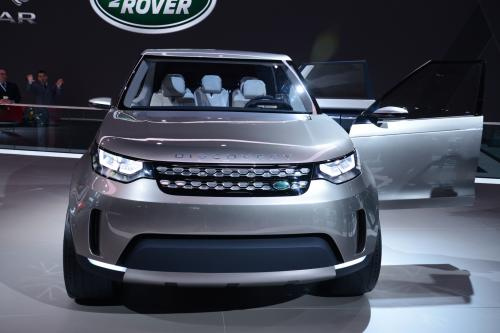 Land Rover Discovery Vision Concept New York 2014 Hd Pictures