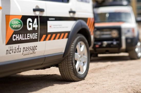 Land Rover G4 Challenge Nevada