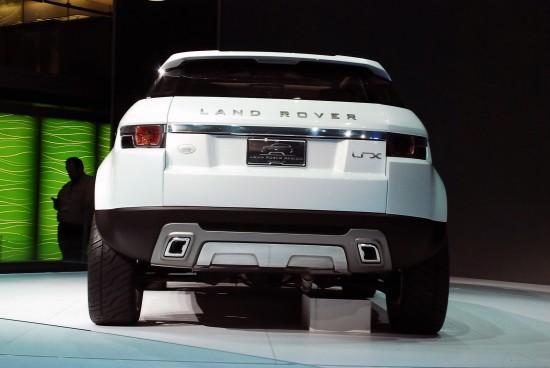 Land Rover LRX Concept Detroit