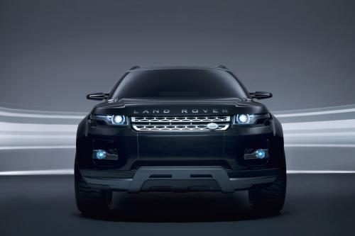 Land Rover LRX с именем Concept Truck Of The Year