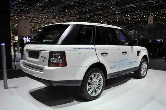 Land Rover Range_e Geneva