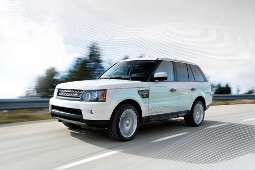 Range Rover LRX будет предложен с 2WD вариант