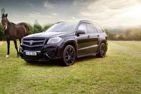 Larte Design Mercedes-Benz GL Black Crystal Movie