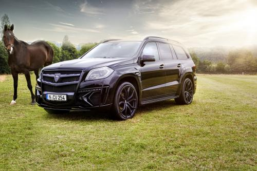 Larte Design и ее новый Mercedes-Benz GL Черный кристалл. [фотографии]