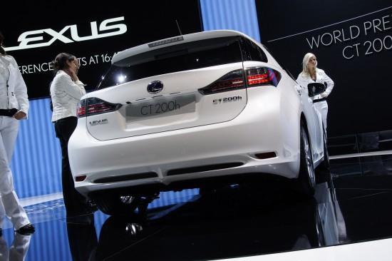 Lexus CT 200h Geneva