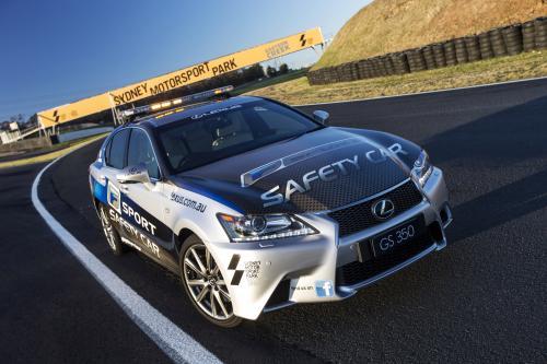 Lexus GS 350 F Sport дебютирует в качестве Safety Car