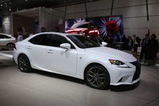 Lexus IS F Sport Detroit