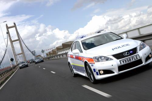 Tuned Lexus IS-F.k.в Bye Bye Road преступлений для полиции Хамберсайд