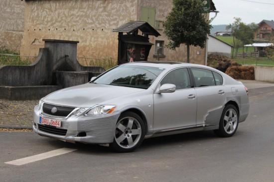 Lexus LF-Gh Concept Spy