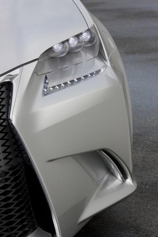 Lexus LF-Gh Hybrid Concept (teaser)