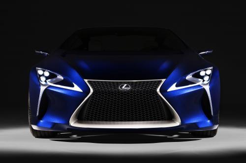 Lexus LF-LC Blue Concept открыл в Сиднее