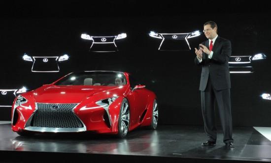 Lexus LF-LC Hybrid Concept Detroit