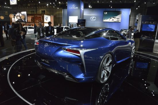 Lexus LF-LC Los Angeles