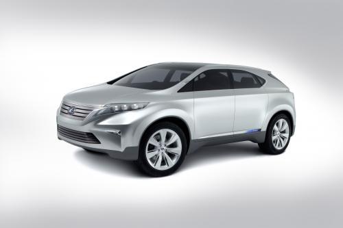 Lexus Показать Гибридный Концепт На Australian International Motor Show