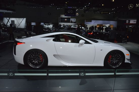 Lexus LFA Los Angeles