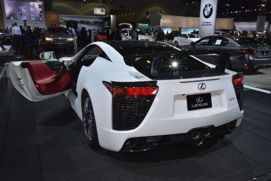 Lexus LFA Los Angeles
