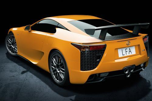 Lexus LFA суперкар еще быстрее с Nurburgring performance pack